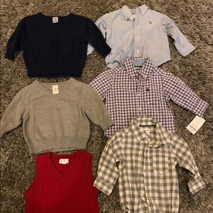 Boys Preppy Bundle 0-3, 3-6